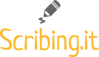 scribing Logo
