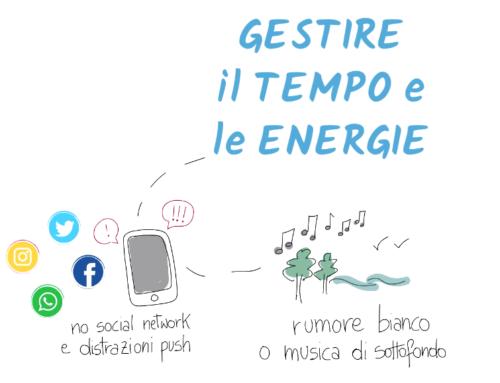 Gestire il tempo e le energie – SMART TIP #2